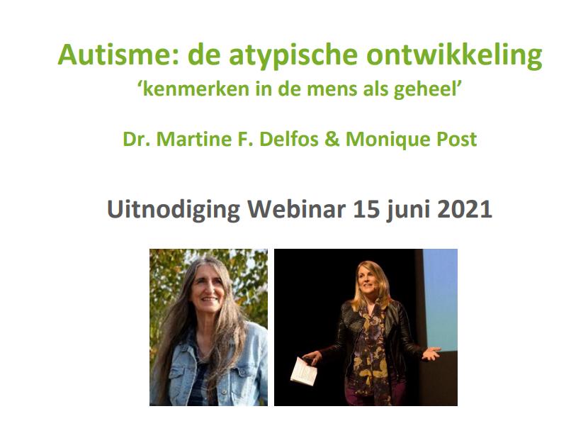 Webinar Martine Delfos en Monique Post